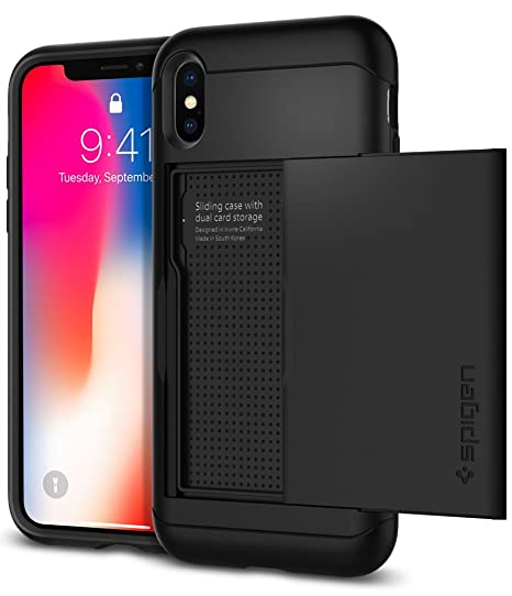 custodia iphone x silicone spigen
